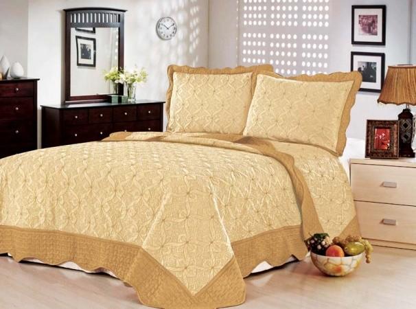"""Стеганое покрывало на кровать с наволочками Patchwork Lux Cotton """"Классик"""""""