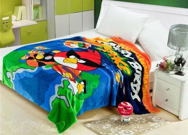 """Плед детский Angry Birds """"Энгри Бердз"""" pld057-1"""