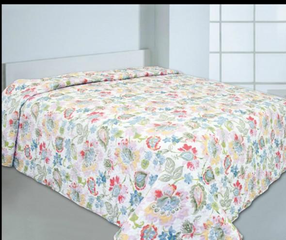 """Стеганое покрывало на кровать Patchwork Lux Cotton """"Эмилия"""""""