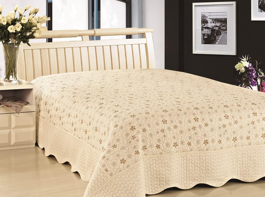 """Стеганое покрывало на кровать Patchwork Lux Cotton """"Нежность"""""""