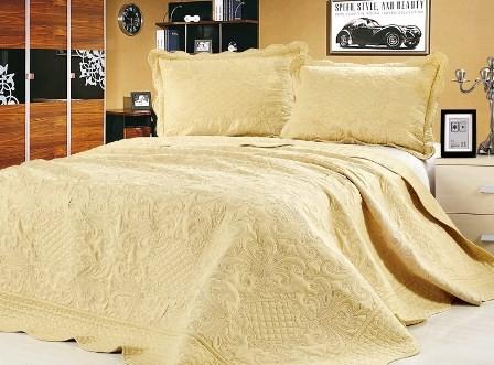 """Стеганое покрывало на кровать с наволочками Patchwork Lux Cotton """"Ампир"""""""