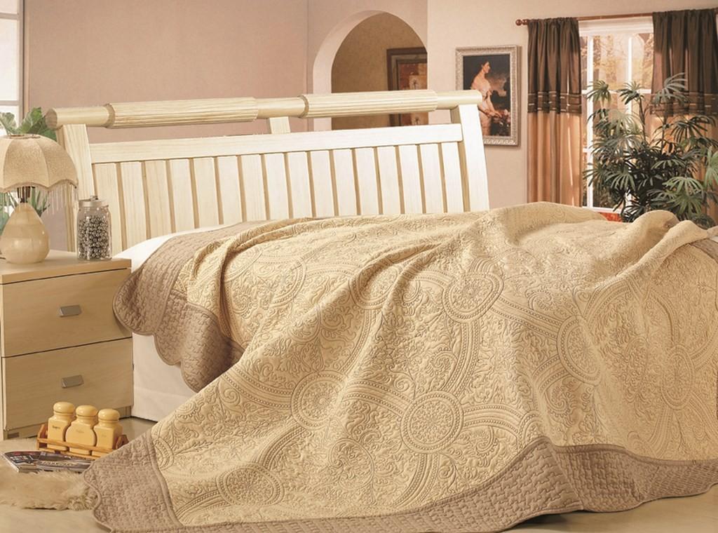 """Стеганое покрывало на кровать с наволочками Patchwork Lux Cotton """"Персия"""""""