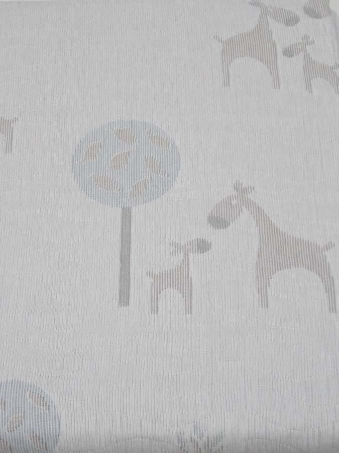 """Покрывало детское двухстороннее A. Salgado """"Deer beige"""""""
